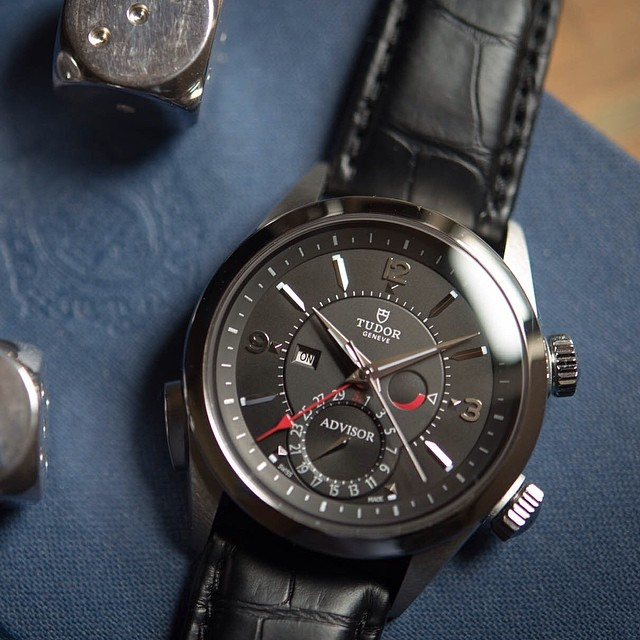 hodinkee :     Today, @jasperkelly goes in-depth and hands-on in his week on the wrist review of the #tudorwatch heritage advisor. (at  www.hodinkee.com )     Tudor is killing it as of late.