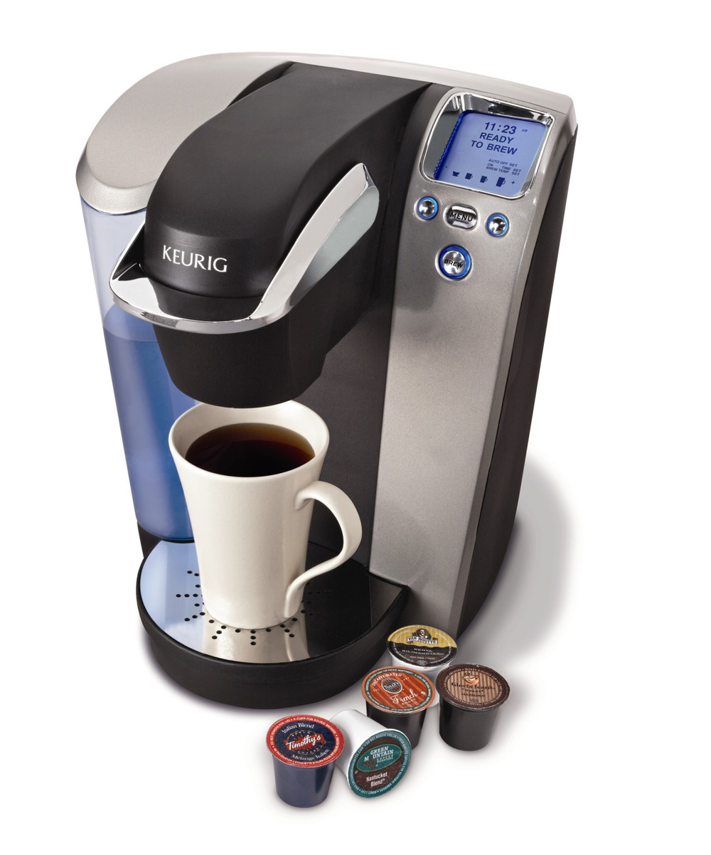 "maxistentialist :      Techdirt :     In order to protect their dominant market share, Keurig makers Green Mountain Coffee Roasters has been on a bit of an aggressive tear of late. As with computer printers, getting the device in the home is simply a gateway to where the real money is: refills. But Keurig has faced the ""problem"" in recent years of third-party pod refills that often retail for 5-25% less than what Keurig charges. As people look to cut costs, there has also been a growing market for reusable pods that generally run anywhere from five to fifteen dollars.   Keurig's solution to this problem? In a lawsuit (pdf) filed against Keurig by TreeHouse Foods, they claim Keurig has been busy striking exclusionary agreements with suppliers and distributors to lock competing products out of the market. What's more, TreeHouse points out that Keurig is now developing a new version of their coffee maker that will incorporate the java-bean equivalent of DRM — so that only Keurig's own coffee pods can be used in it.     Friends don't let friends use pod coffee makers."
