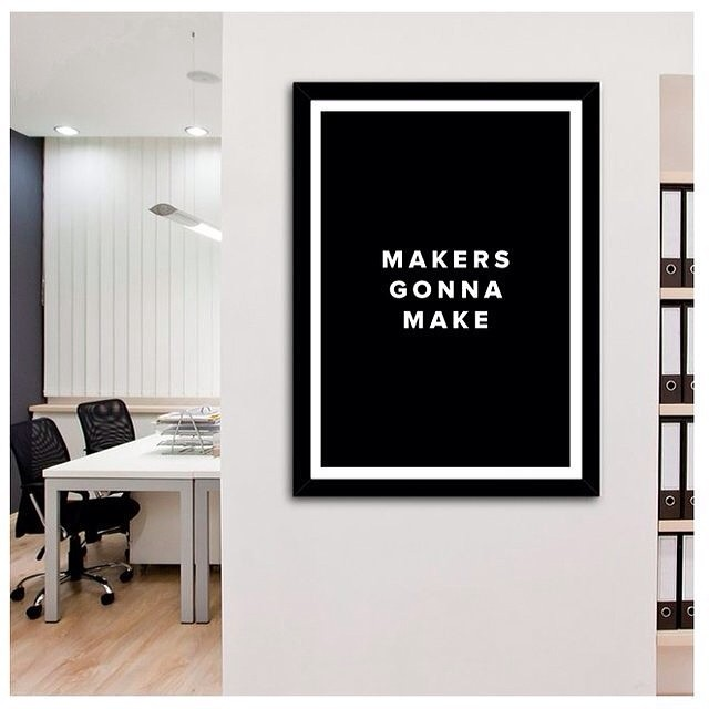 Makers Gonna Make. via @fancy by porhomme  http://ift.tt/1dB7xd1