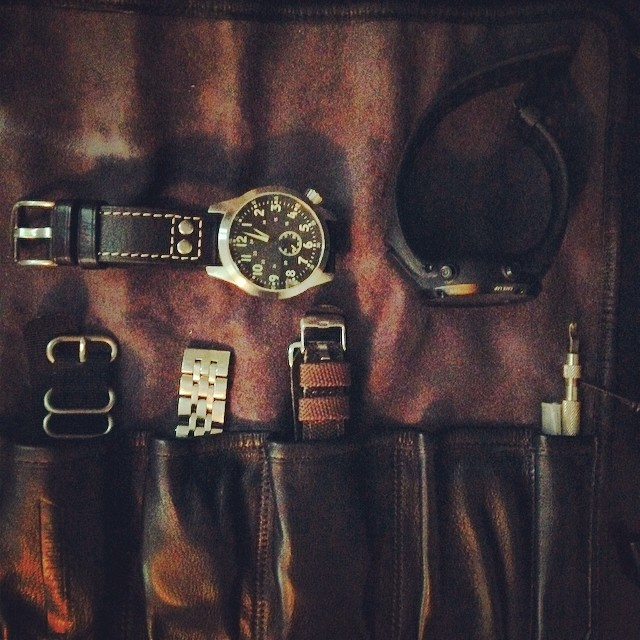 @wornandwound watch roll is awesome.