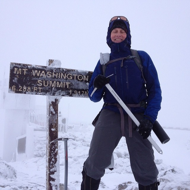 My Dad did a winter summit of mt Washington. I has just enough motivation to take the dog out.