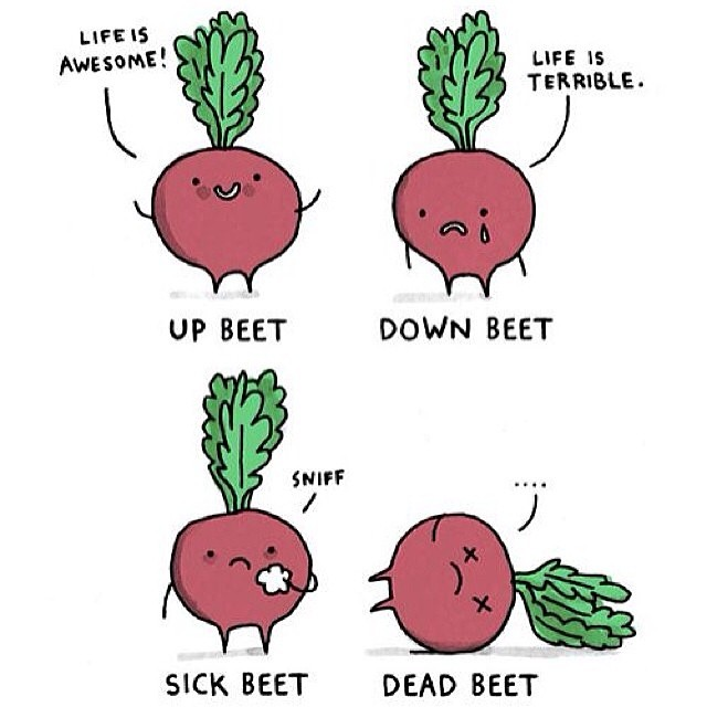 A little beet of a laugh for you on #monday by skratchlabs  http://ift.tt/1kx576K