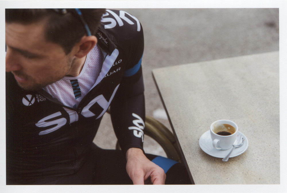 emilymaye :     test print, bernie & coffee, rapha
