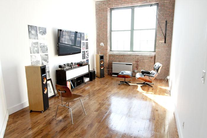 benjamingrimes :     My living room. Still need a lot of furniture hah