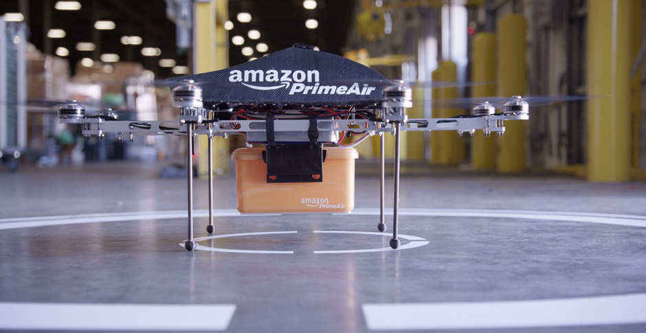 davemorin :      Drone Delivery is finally coming. Props to Amazon  for telling the story at scale first.     Amazon Prime Air
