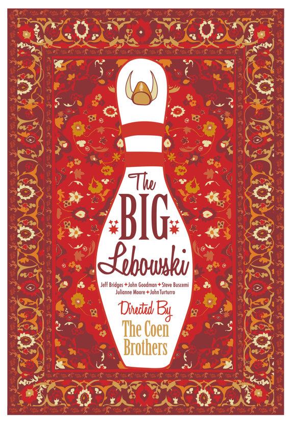 fuckyeahmovieposters :       The Big Lebowski   by  Cutestreak Designs
