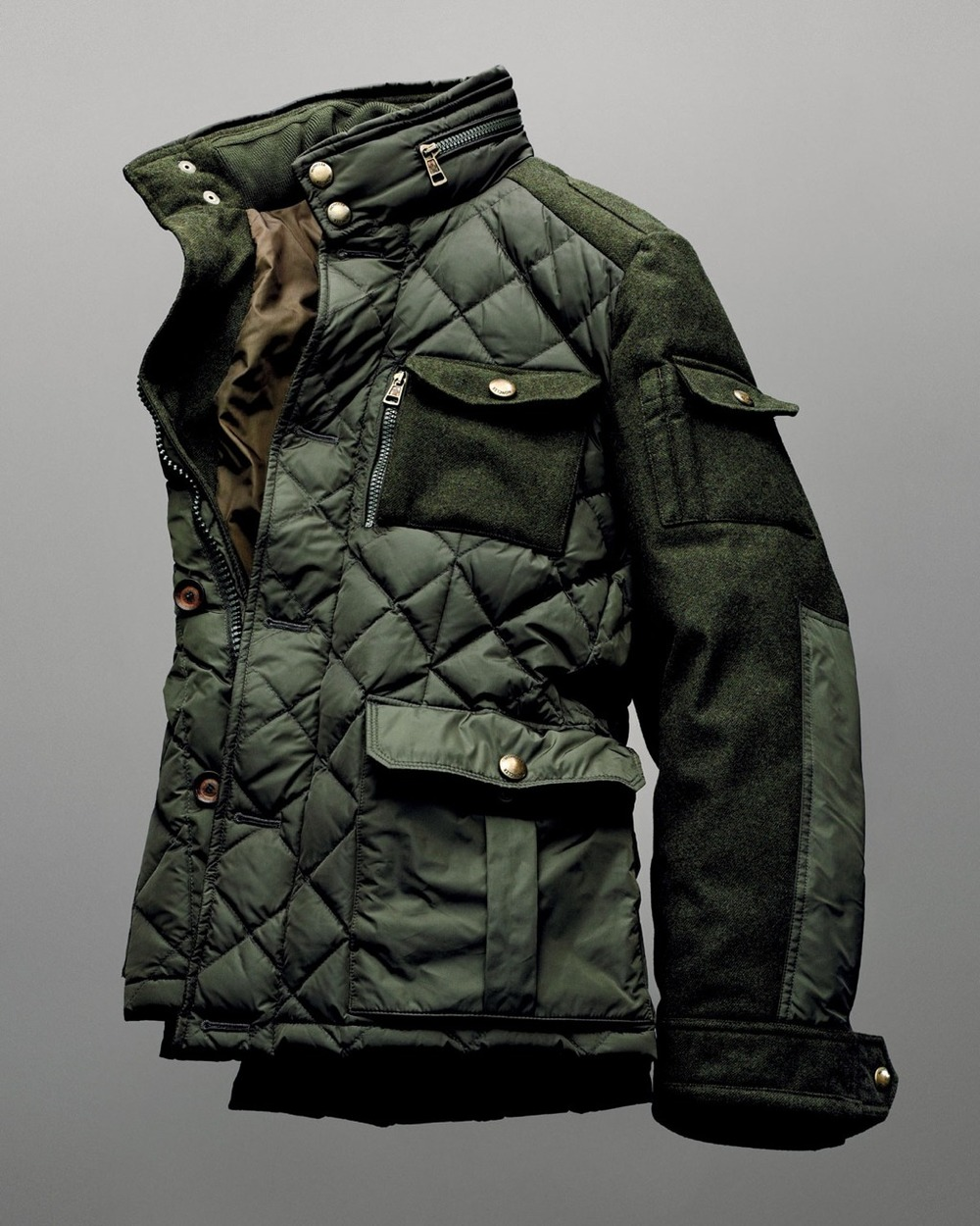 youbroketheinternet :      beyondfabric :      Moncler x Bergdorf Goodman 111th Aniversary Rodriguez Field Jacket       Nice