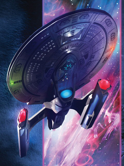 Riker's new lady, designed by Sean Tourangeau.