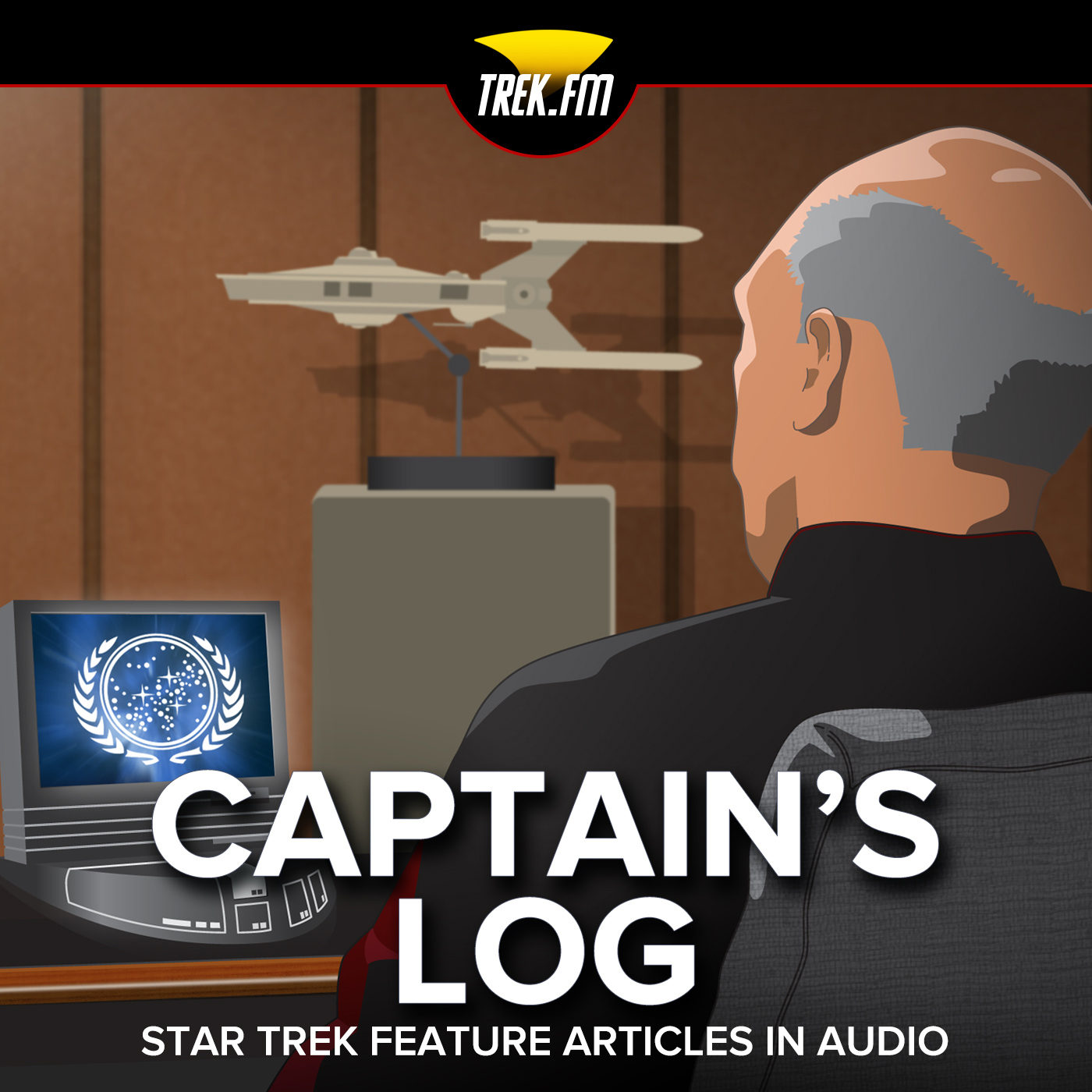 Star Trek Podcast | Captain's Log - Articles in Audio | Trek.fm