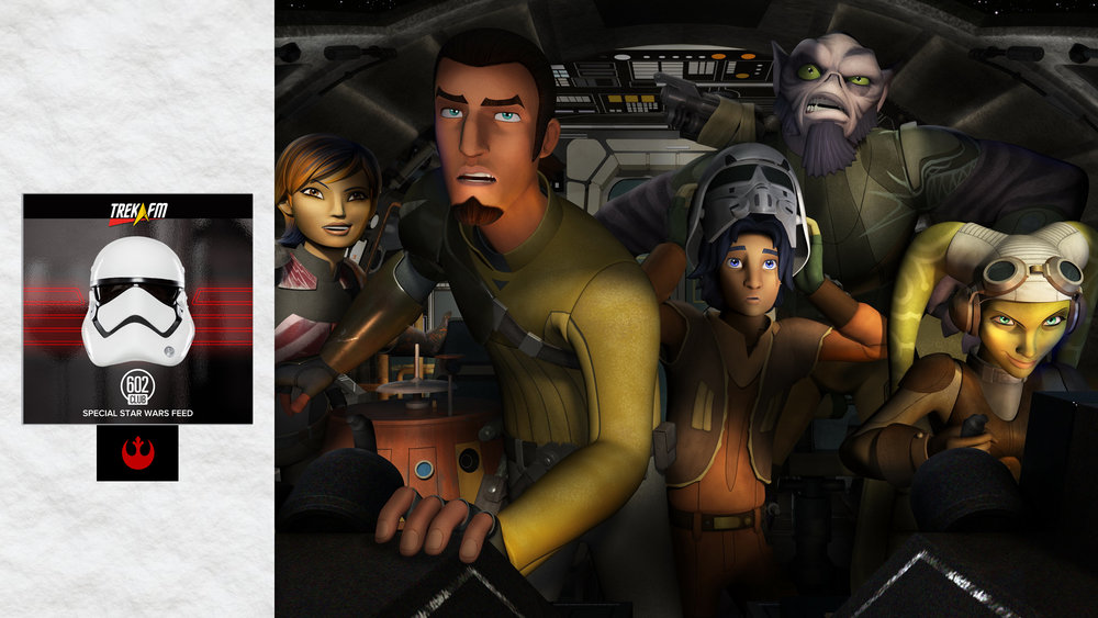 Star Wars Rebels and Episode VII. In the premiere episode of Trek.fm's new geekery speakeasy we delve into the rumors and wishes for the next Star Wars installment as well as the new Disney XD series Star Wars Rebels.