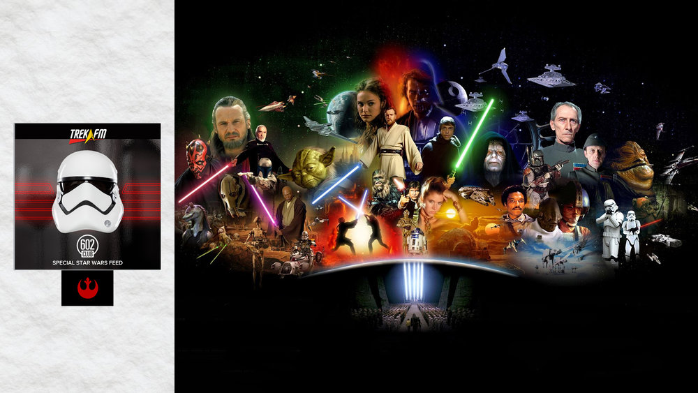 The Star Wars Saga. We discuss everything, the Prequels, the Jedi, unexplored time periods, the expanded universe then and now, the Holiday Special, Special Editions, the new films, comics and the digital releases.
