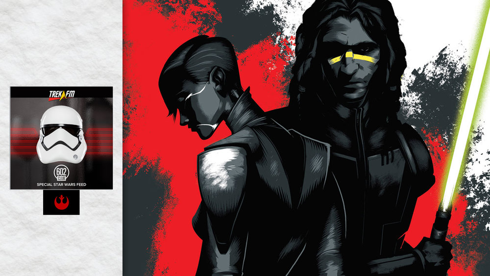 "Star Wars: Dark Disciple. We discuss every part of the book and in the end have to ask the question, ""Is this the best book in the new Star Wars canon?""."