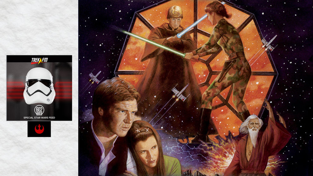 Star Wars: The Last Command. We discuss, the end, impressions now, the smuggler's alliance, the assault on Coruscant, the cover issue, the mountain takedown, the epilogue, with great power, universe building and our ratings.
