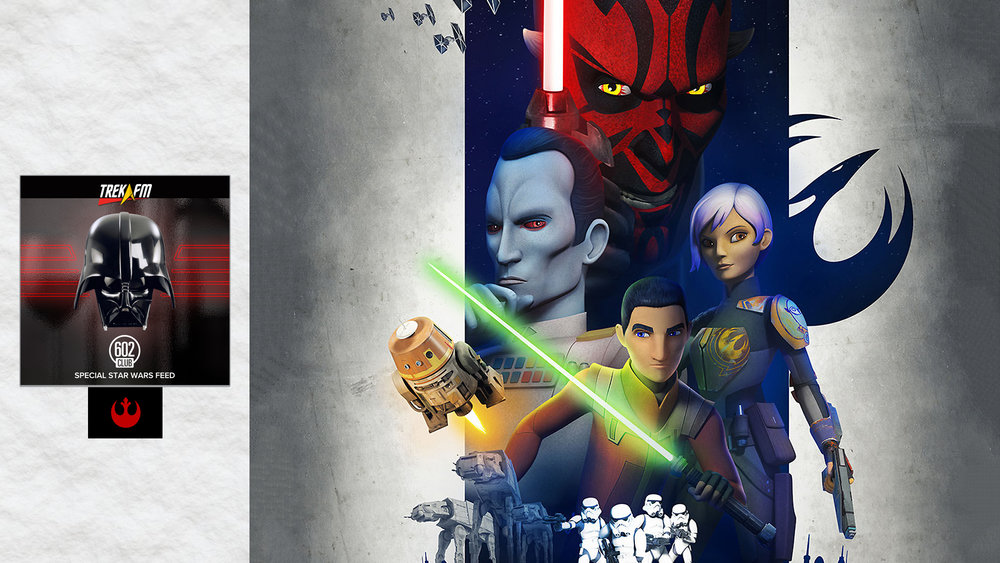 Star Wars Rebels: Season 3 Premiere. We discuss coming into season three, Kanan and the Bendu, Ezra's Journey, retreating, Thrawn, a sense of purpose and ratings.