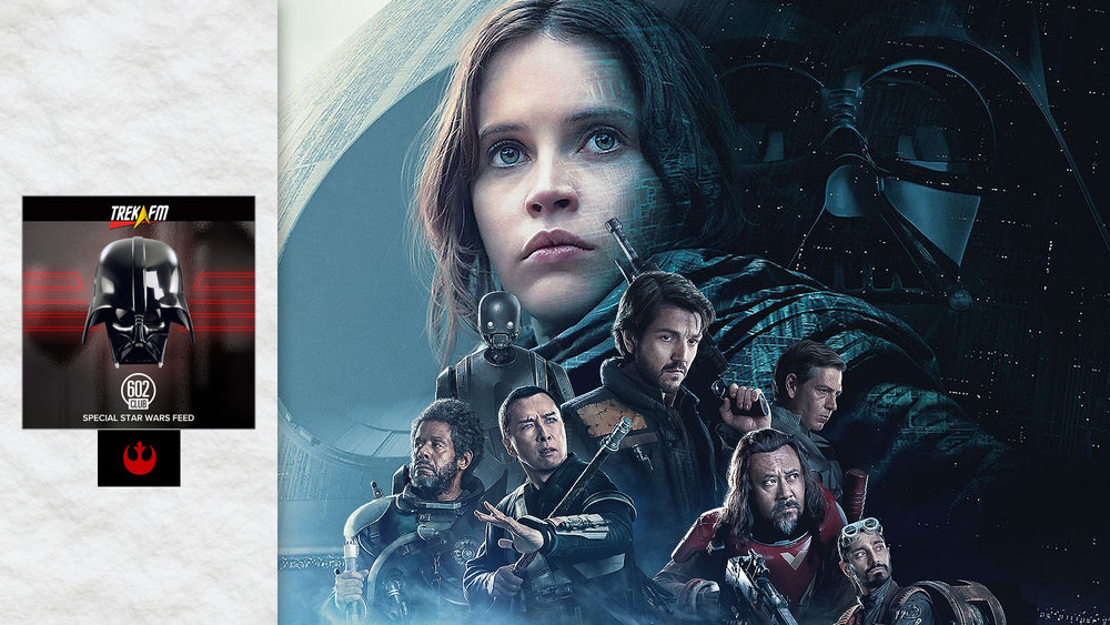 Rogue One: A Star Wars Story. We discuss our preparation for the movie, first impression, comparisons, character, the Rebellion, Vader, some surprises, music and so much more!