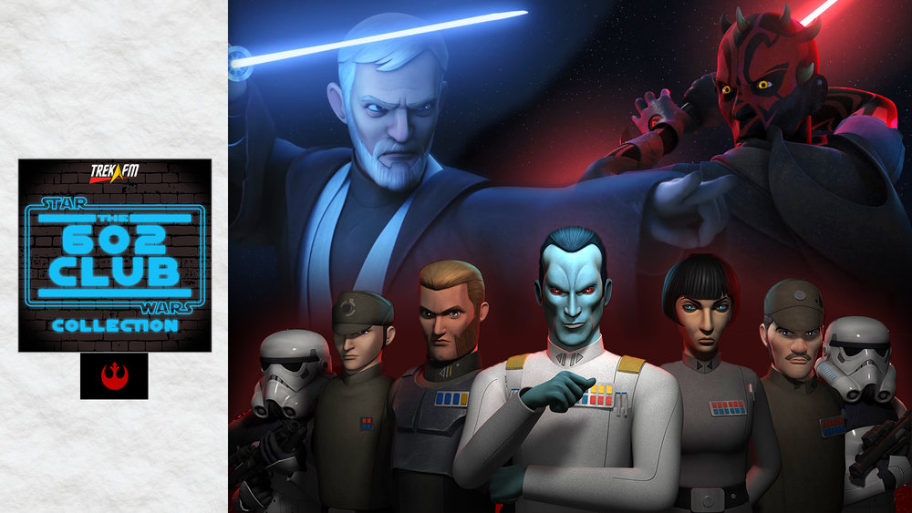 Star Wars Rebels: Season 3. We discuss Thrawn, Ezra/Maul/darkside, Twin Suns, The Chosen One, Bendu, Rebel and Mandalorian connections, Whitta's episodes, hope and our ratings.