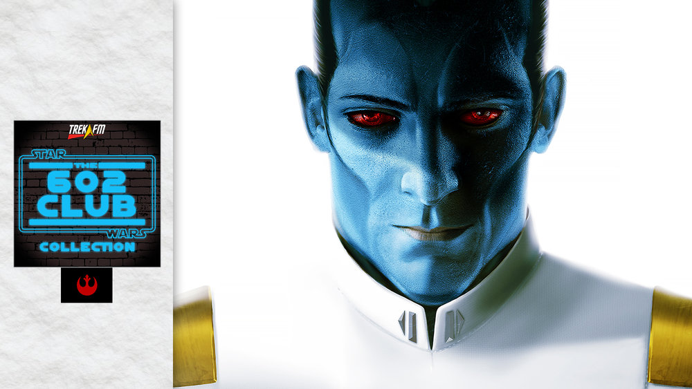 Thrawn. We discuss our expectations, Thrawn's character, parallels, connections, character voices, Thrawn's equal, Eli Vanto and our ratings.