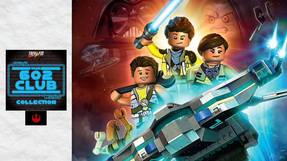 Lego Star Wars: The Freemaker Adventures Season One. We discuss Lego, finding the Freemaker Adventures, the set up, favorite character, favorite episodes and why you should be watching.