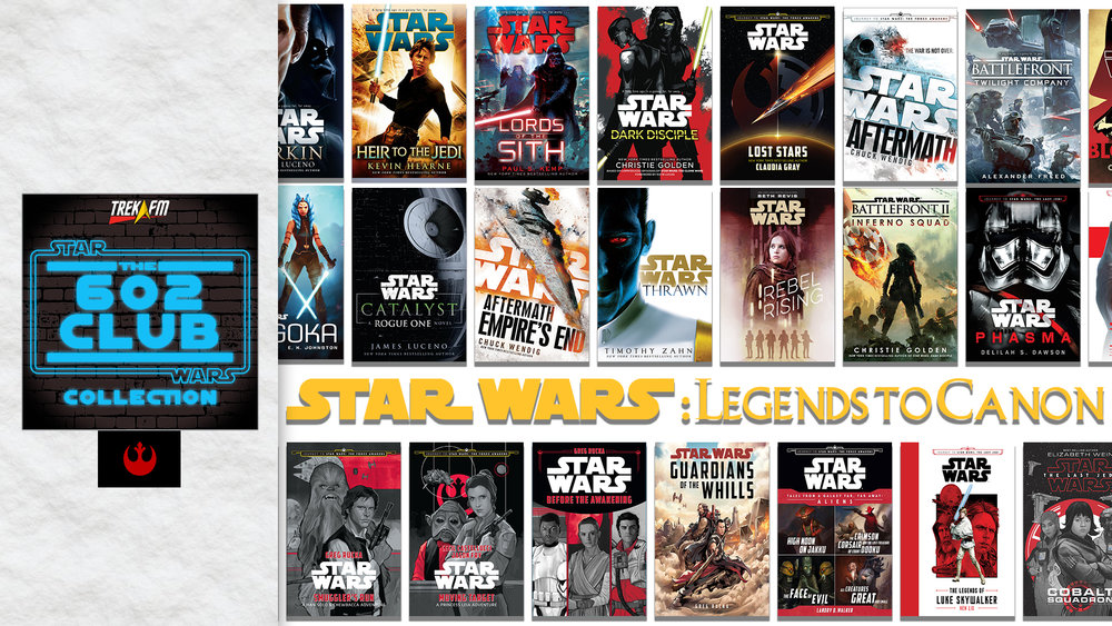 Dragon Con Panel: Star Wars: Legends to Canon. We cover the new canon books and comics in the saga as well as some of our favorites from the Legends line. We talk about what's working, what's not, our favorites and take questions from the audience.