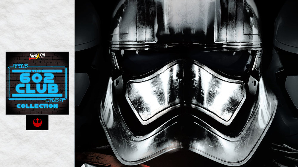 Phasma. We discuss our excitement, a character study, history, what about redemption, The First Order, world building, it all ties together and our ratings.