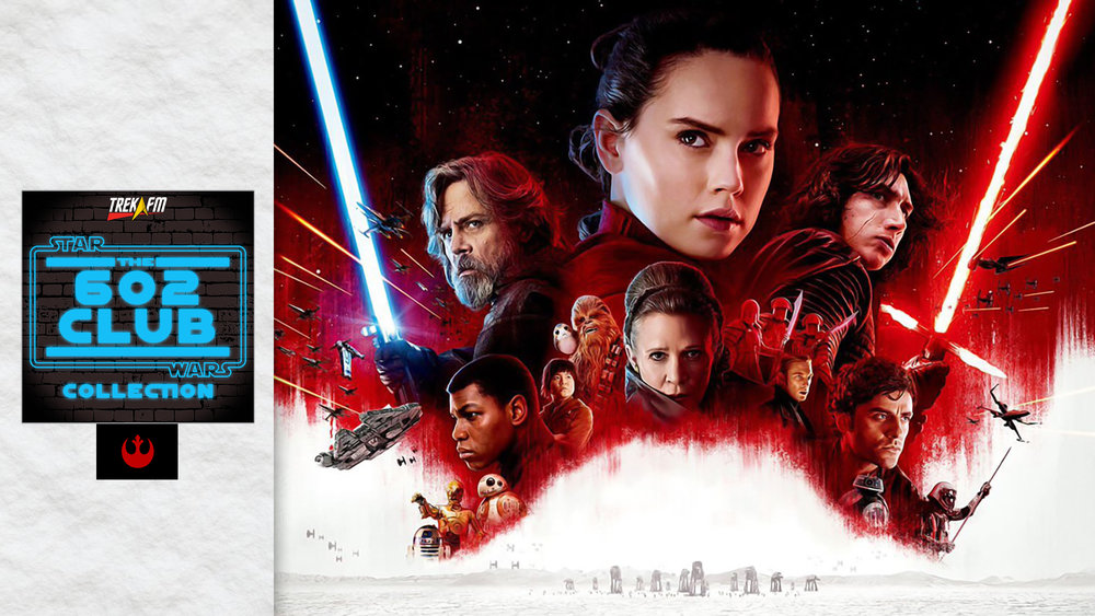 "Star Wars: The Last Jedi. We discuss context and history, writing 101, the characters, the ""chase"", almost death, Crait and Luke battle, lost hope, humor, music, ships and our ratings."