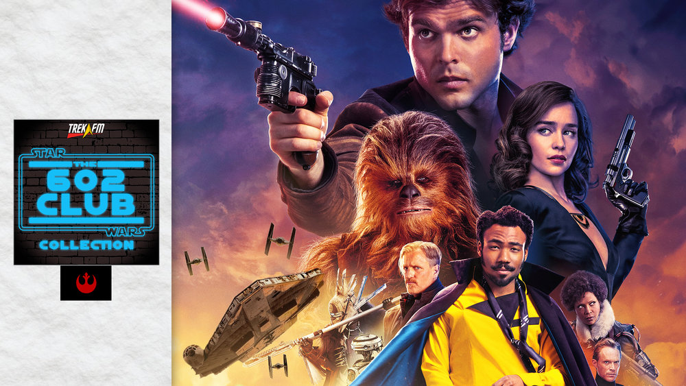 Solo: A Star Wars Story. We discuss before Solo, Han, Qi'ra, connections and motifs, Beckett and the gang, Lando and L3, Chewbacca, Enfys Nest, Dryden, ILM's work, the score and ratings.