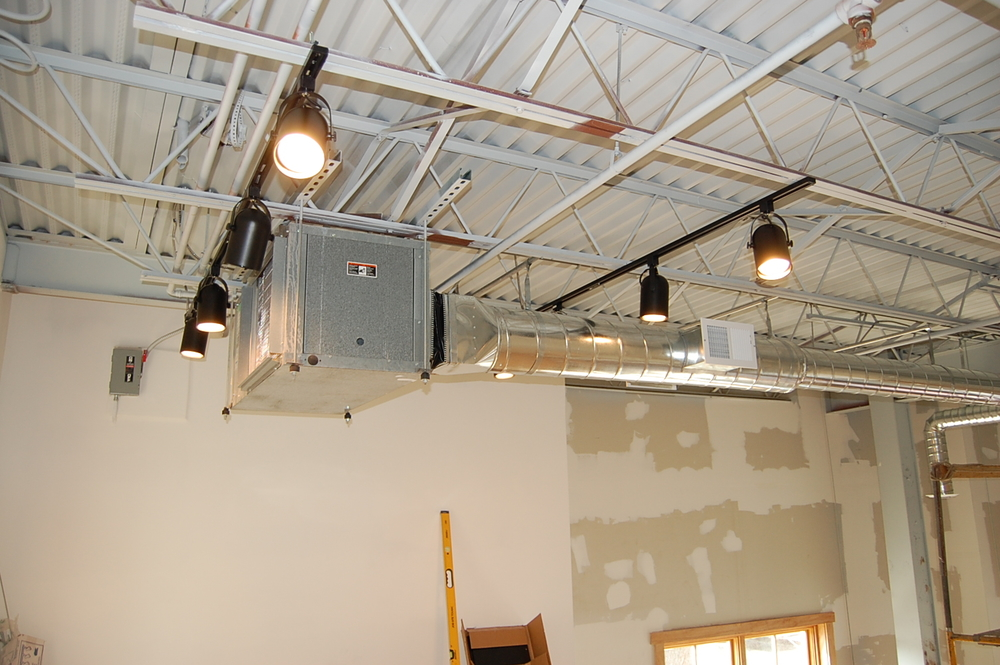 And ductwork,