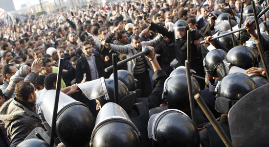 Cairo riots egypt