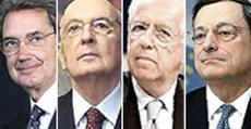 Bernabè Napolitano Monti e Draghi
