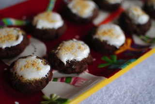 Smores thumbprints