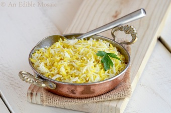 Mixed White and Yellow Rice