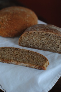 Whole wheat mountain bread