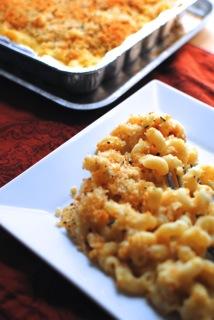 Roasted garlic mac