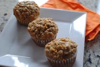 Sunburst muffins