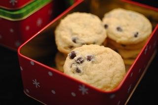 Eggnog chocolate chip cookies
