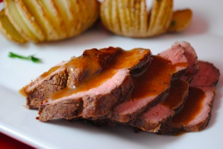 Spiced sirloin roast