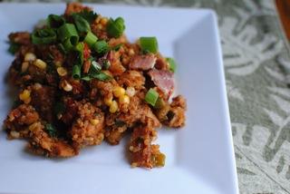 Bbq quinoa salad
