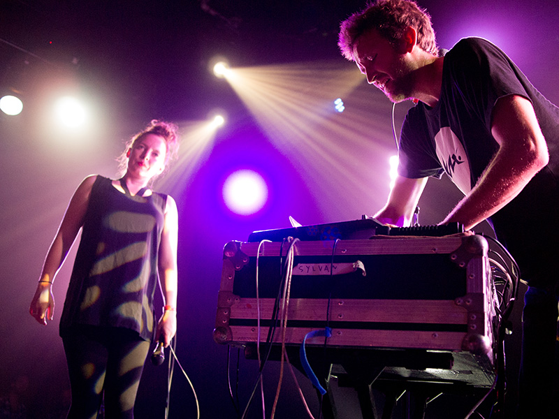 Sylvan Esso at the Independent