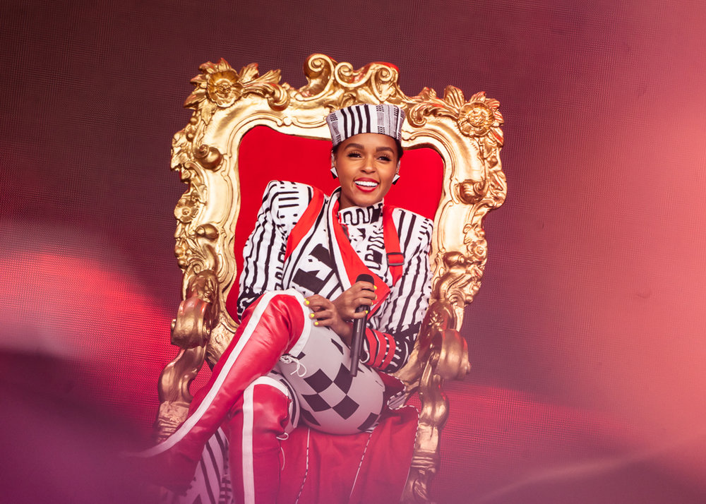 Janelle Monae @ Outside Lands, San Francisco, CA