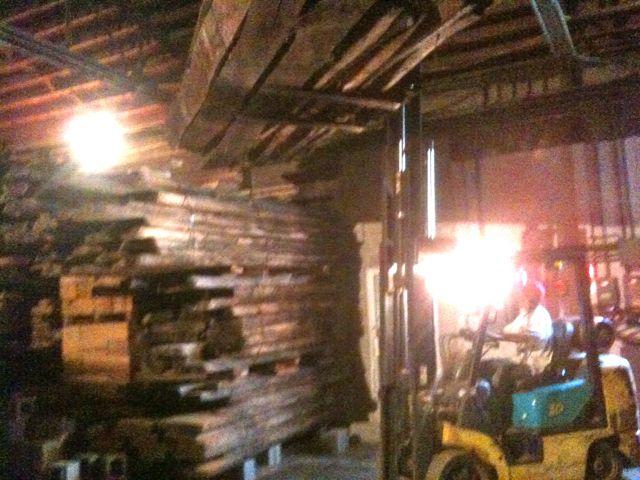 kiln dried lumber