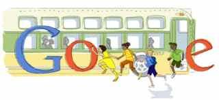 Google Doodle Rosa Parks, Montgomery, Alabama
