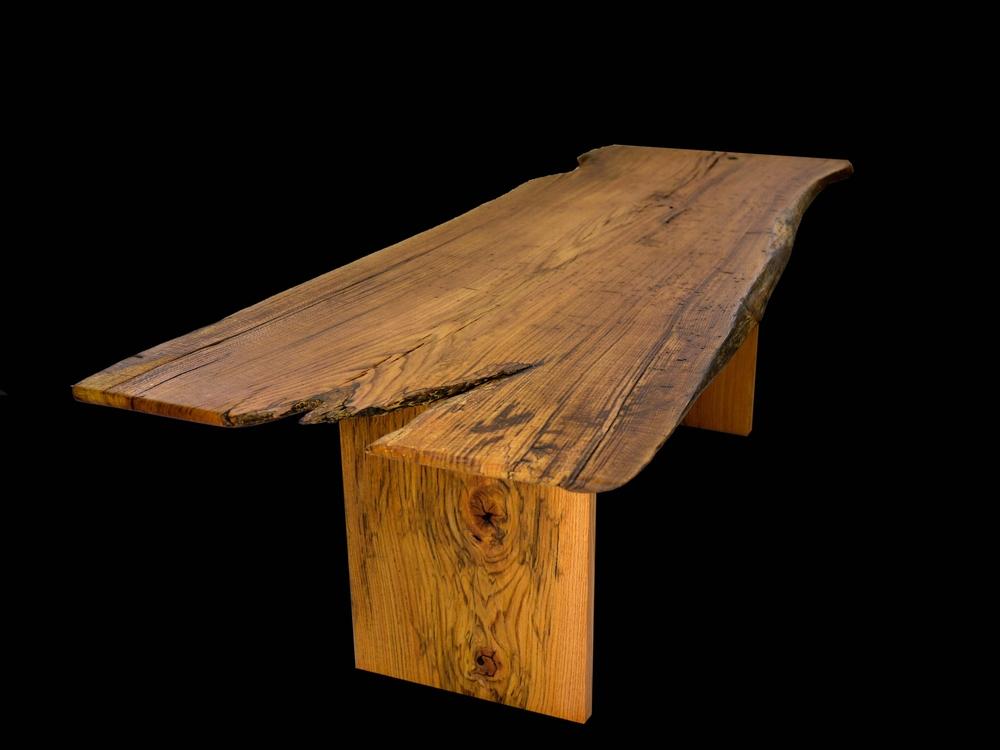 rotten oak dining table