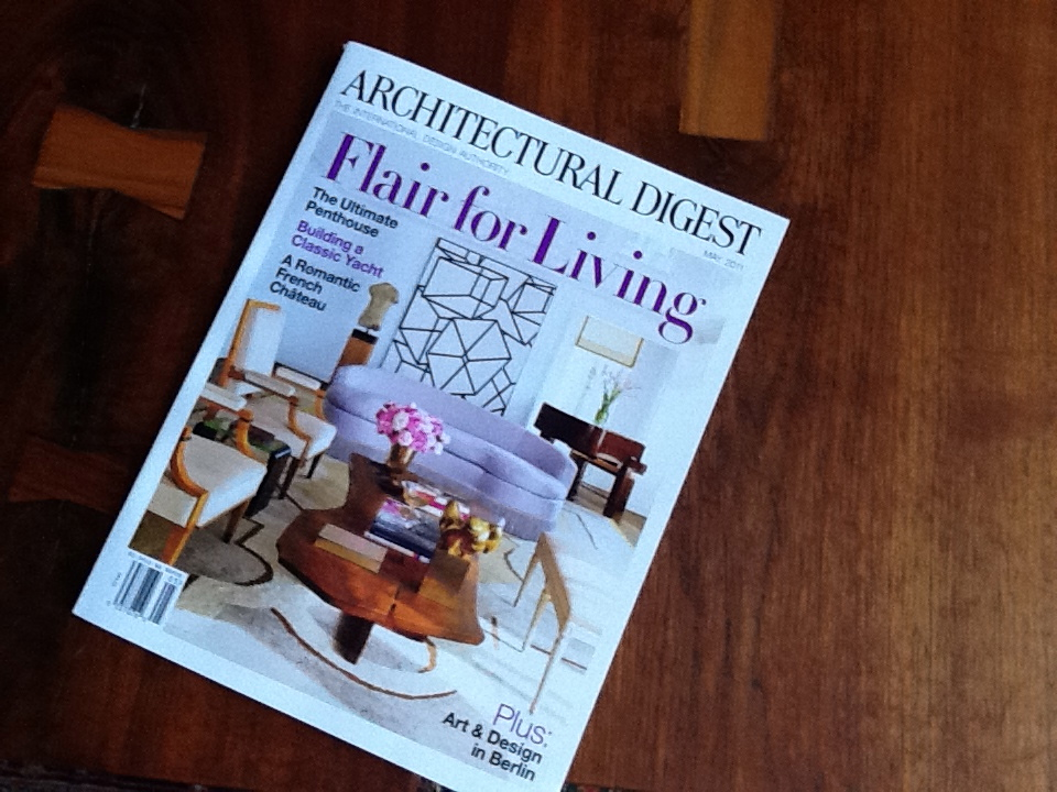 may architectural digest cover