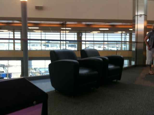 samsung rest area at DFW
