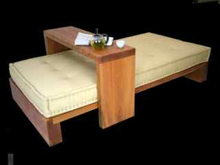 solid cherry daybed set
