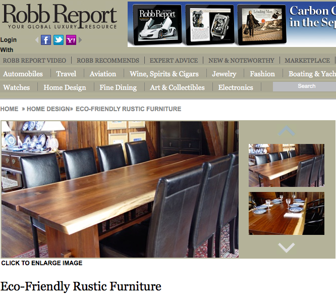 robin's in the robb report