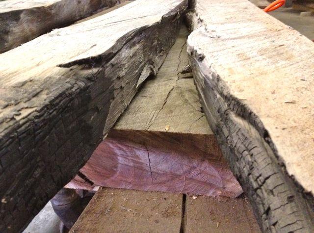 walnut lumber fire
