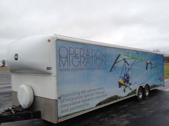 operation migration lands in russellville alabama