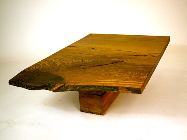 heart pine and oak low tables