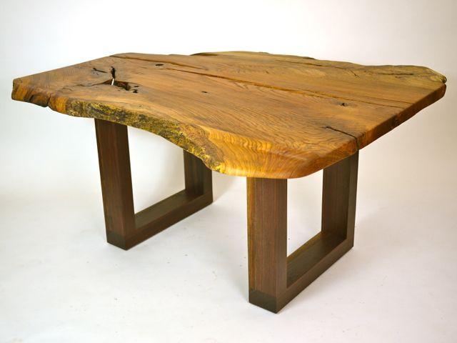 organic oak & walnut desk